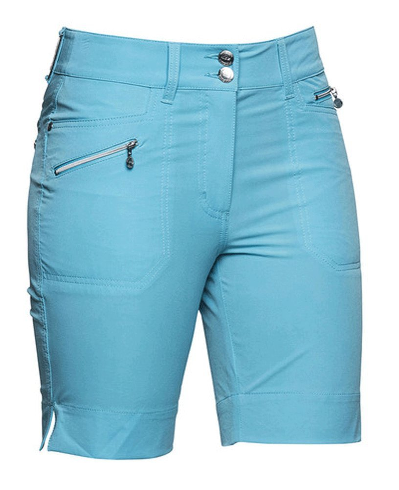 Daily Sports Womens Shorts - Miracle (Shorter Version) Baltic - Size 10 by Daily Sports