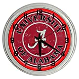 Alabama University Red Neon clock from Redeye Laserworks