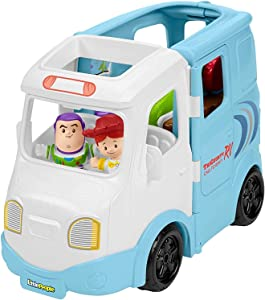 Fisher-Price Disney Toy Story 4 Jessie's Campground Adventure by Little People,Multicolor