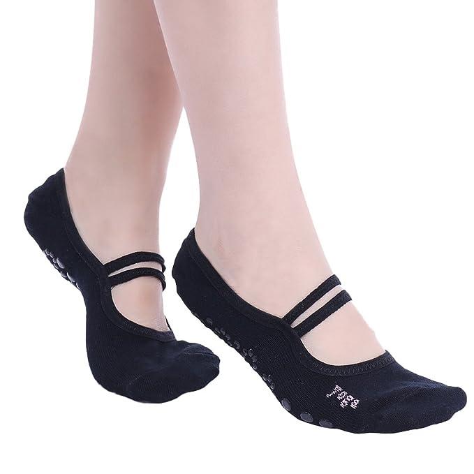 iEFiEL Calcetines de Yoga Ballet Danza Antideslizantes para Mujer Niña: Amazon.es: Ropa y accesorios