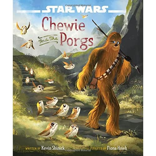 Star Wars: The Last Jedi Chewie and the Porgs (Hardcover)