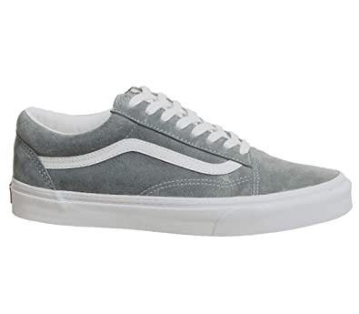 0148a055d8ed8d Vans Old Skool Trainers Grey  Amazon.co.uk  Shoes   Bags