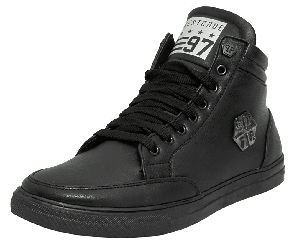 Casual Sneakers 9093-Black Shoes