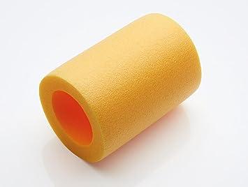 verbinder hulse connector fur schwimmnudel 2 loch verbinder gelb 2 loch 140mm lang