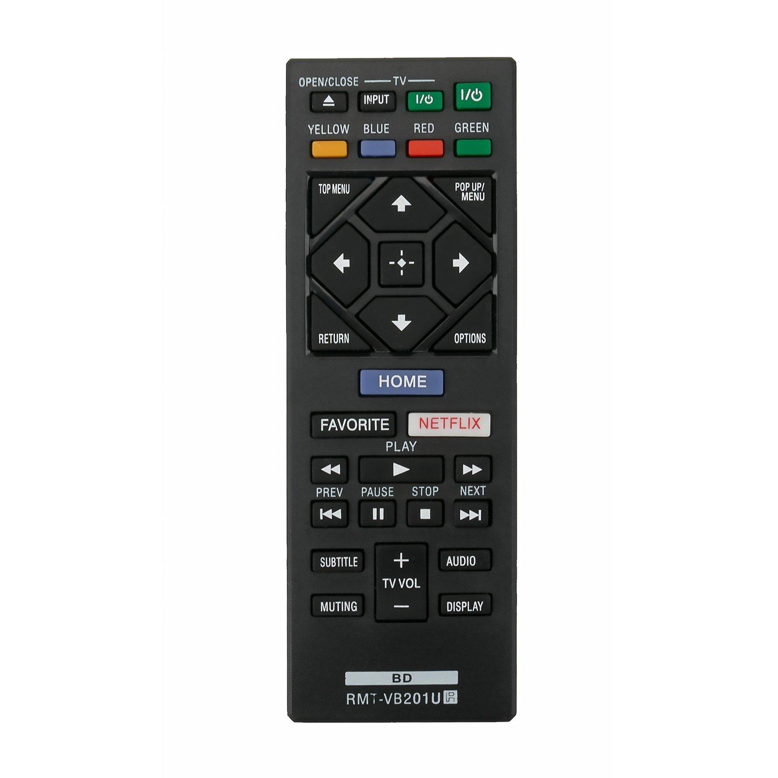 Control Remoto Rmt Vb201u Sony Blu Ray Bd Disc Dvd Player...