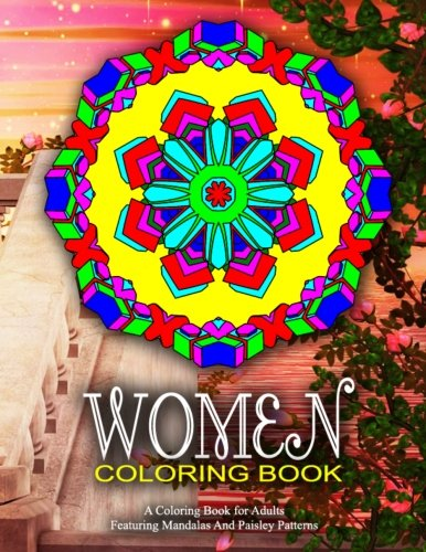 WOMEN COLORING BOOK - Vol.1: Women Coloring Books For Adults (Volume 1)