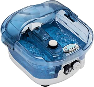Homedics HoMedics2in1 Sauna and Footbath with Heat Boost Pedicure atHome Spa with Visible Warm Mist and Massaging Hydra Streams, 1 Count