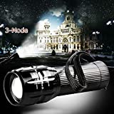 Lily's Gift 2000 Lumen Zoomable CREE Q5 LED 3 Mode Flashlight Torch Zoom Lamp Light AAA