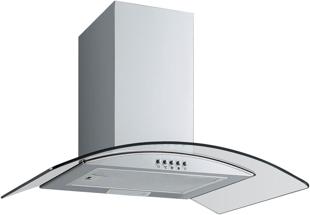 recirculación Juego: Campana + Filtro PKM 9999 – 2H 60 cm LED + Filtro de carbón activo CF150: Amazon.es: Grandes electrodomésticos