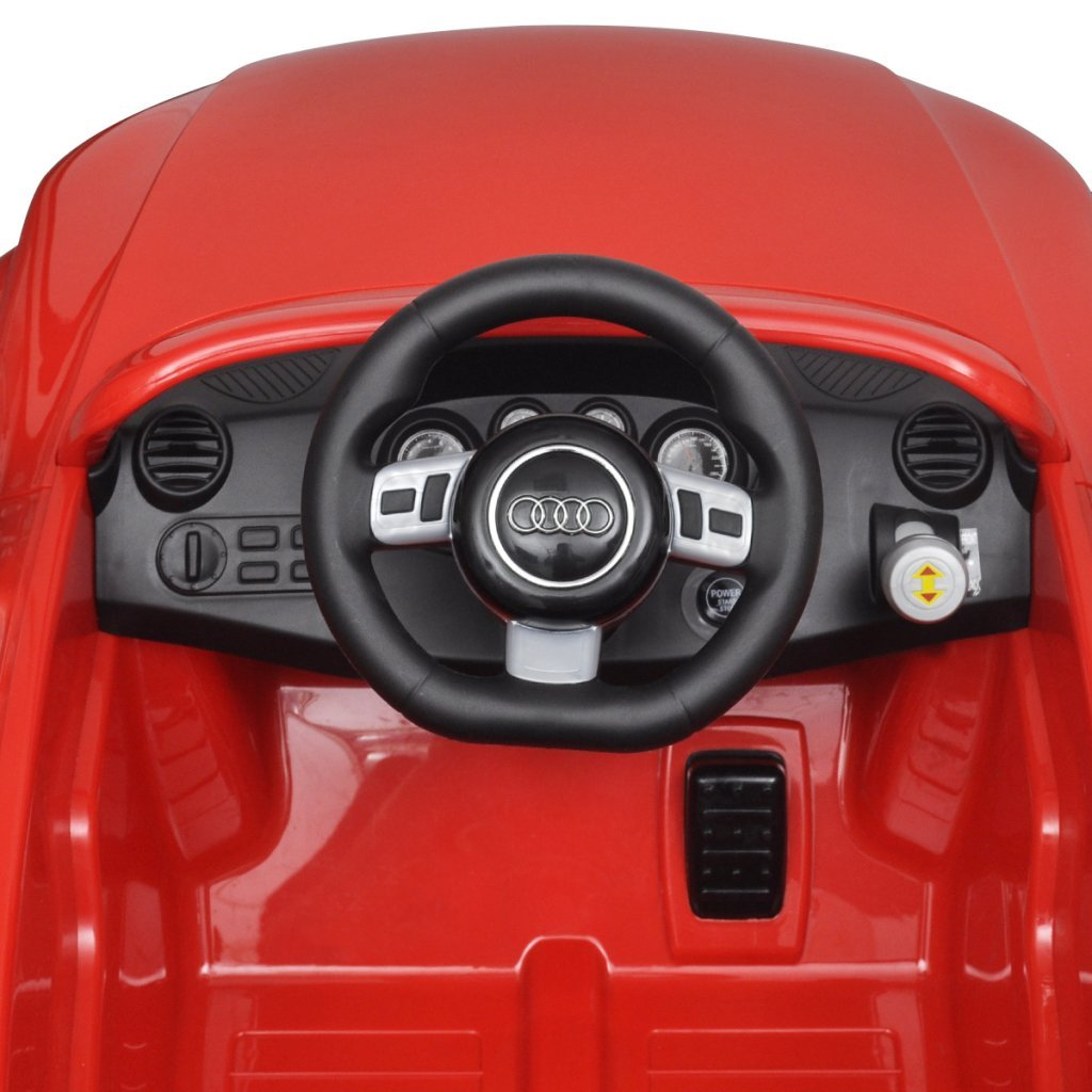 vidaXL Elektroauto mit Fernbedienung Audi TT RS Rot Kinderfahrzeug Kinderauto Batteriebetriebene Fahrzeuge