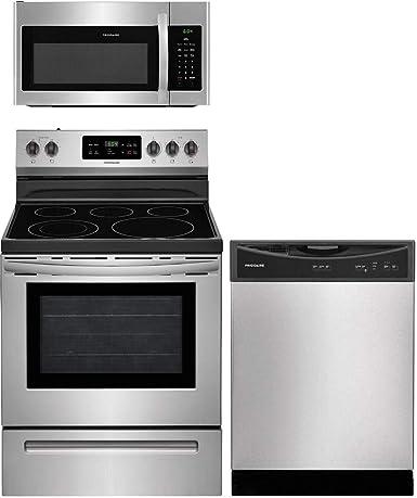Amazon.com: Frigidaire 3 Piece Kitchen Appliance Package ...