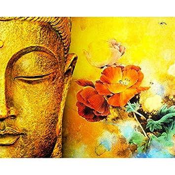 Yyboo Buddha Blume Diy Malen Nach Zahlen Kits Acrylfarbe Durch