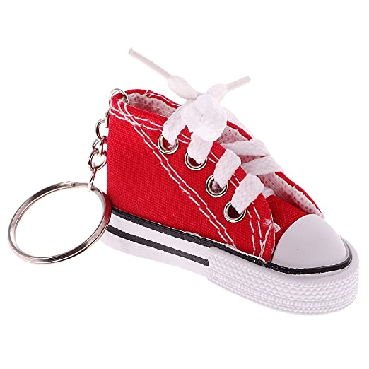 Dovewill Fashion Lace up Flat Sports Sneakers Shoes Pendant Keyring Key  Chain Women Girls Handbag Key 7f5a69df4e