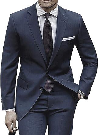 P/&G Mens Velvet 2 Button Slim Fit Suit Jacket Pant Sets