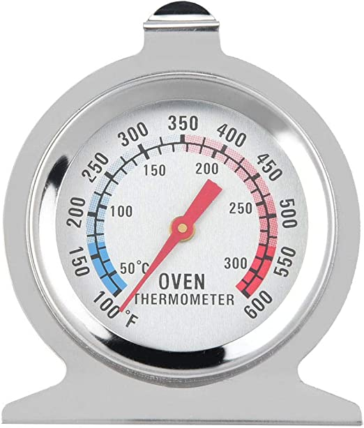 Dial Stainless Steel Oven Thermometer Temperature Gauge Kitchen Baking Supplies