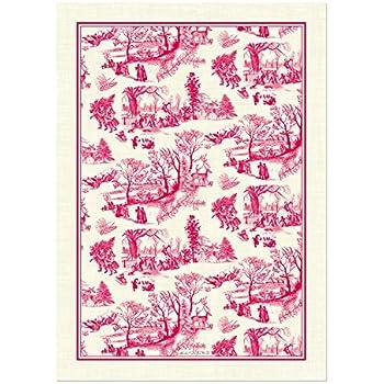 Michel Design Works Natural Cotton Kitchen Towel, Christmas Wonderland Part 69