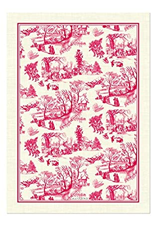 Michel Design Works Natural Cotton Kitchen Towel, Christmas Wonderland