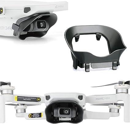 Mavic Mini Drone Gimbal Camera Lens Cover Sunshade Sun Hood Cover Protective Sun Shade Against Light Flares Anti-Glare Accessories for DJI Mavic Mini