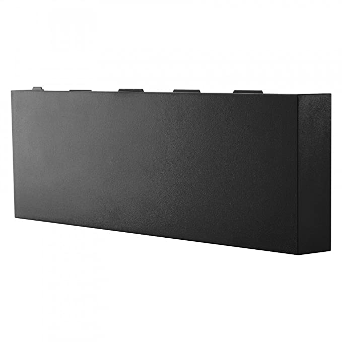 eXtremeRate® Solid Matte Black HDD Bay Hard Drive Cover ...