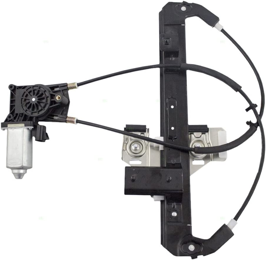 Passengers Rear Power Window Lift Regulator with Motor Assembly Replacement for Chevrolet Cadillac GMC SUV 19260051