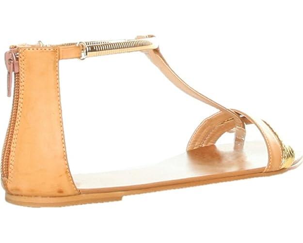 Ana Lublin Damen Sandalen Sandalette Beige Gold Größe 38: Amazon.de: Schuhe  & Handtaschen