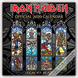 Iron Maiden Us Tour 2020 Buy Iron Maiden 2020 Calendar Book Online at Low Prices in India