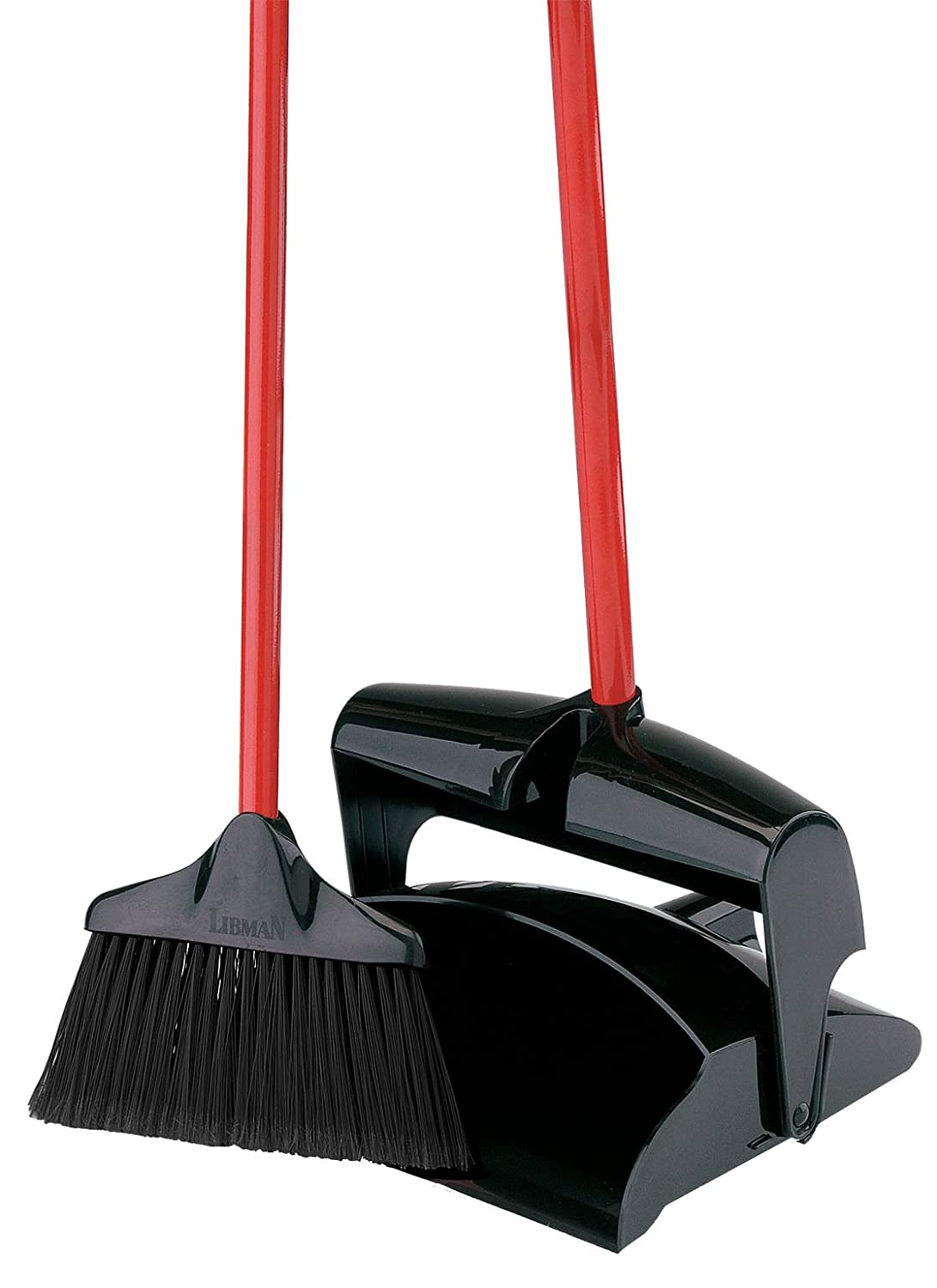 Libman 917 Lobby Broom and Dust Pan (Closed Lid) Libman CO 00917 3260-7434