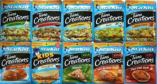 (Starkist Tuna - Variety Pack of 10)