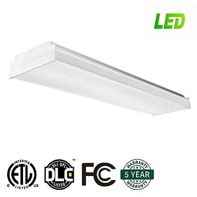 antlux 2ft led wraparound flushmount led garage lights 20w 2400lm rh amazon com LED Lamp Wiring Diagram Seagull LED Under Cabinet Lighting Wiring Diagram