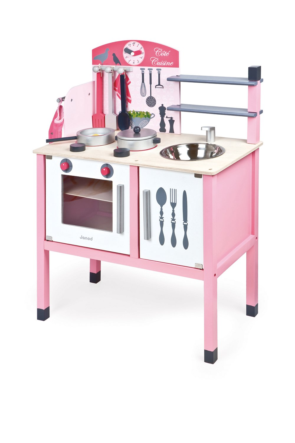 Amazon.com: Janod Mademoiselle Maxi Cooker: Toys & Games