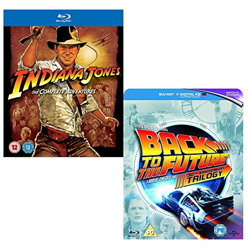 (Indiana Jones - Back To The Future - Complete Collection - Box Set - 7 Movie Bundling Blu-ray)