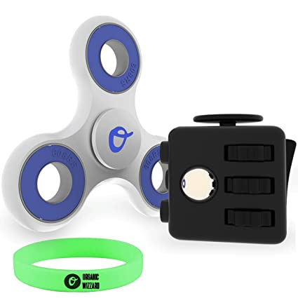 Organic Wizzard Fidget Cube And Spinner Bundle