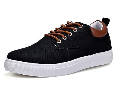 0b6de8db4c0 Comfortable Casual Canvas Shoes for Men Lace-Up Brand Fashion Flat Loafers  Shoe (Men s