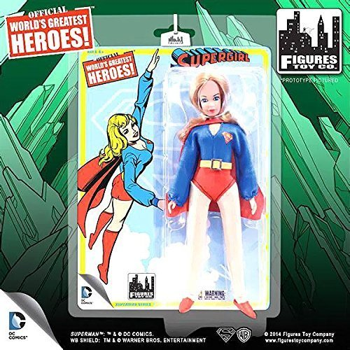 Superman Retro Series 1 Action Figure Supergirl by Figures Toy Company