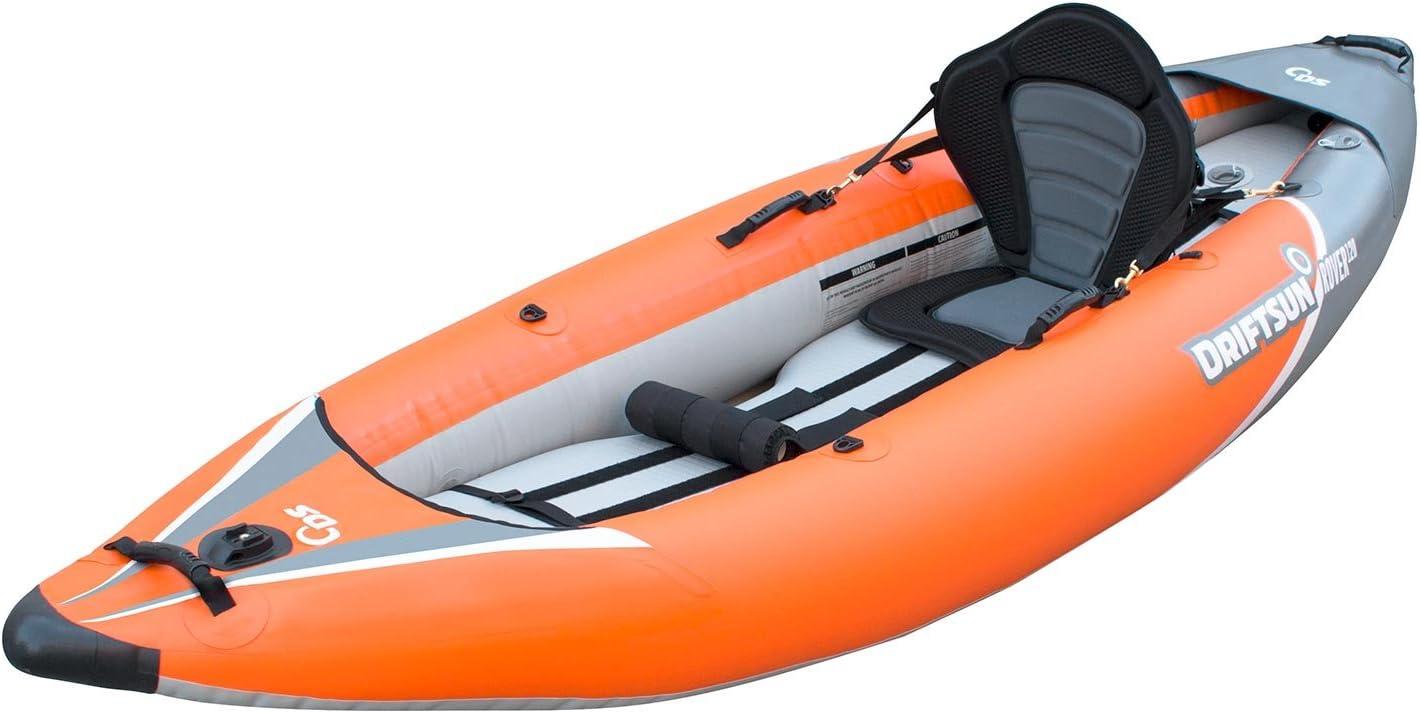 single person inflatable kayak