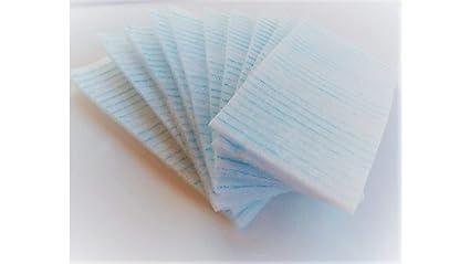 Esponjas jabonosas desechables Caja de 240 esponjas. Con jabón dermatológico. Efecto tonificante. Libres de látex 100%. Especiales para pieles sensibles.