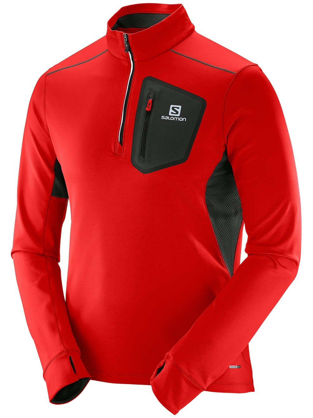 Salomon Ml Trail Runner Warm Mid M - T-Shirt für Herren, Farbe