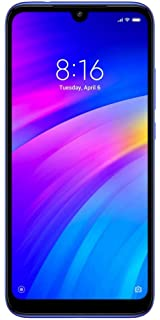 Redmi 7 (Comet Blue, 2GB RAM, 32GB Storage) Smartphones at amazon