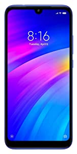 Redmi 7 (Comet Blue, 3GB RAM, IPS LCD Display, 32GB Storage, 4000mAH Battery)