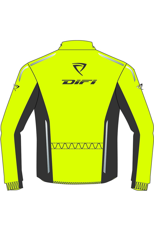 Difi FIJI Motorrad Regenjacke Farbe signalgelb//grau Gr/ö/ße XXL