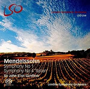 Mendelssohn: Symphonies Nos. 1 & 4 [Hybrid SACD + Blu Ray Audio Disc]