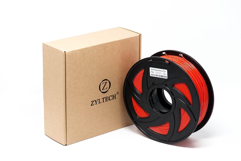 Zyltech Filamento para impresora 3D, PLA, 1,75 mm, 1 kg: Amazon.es ...