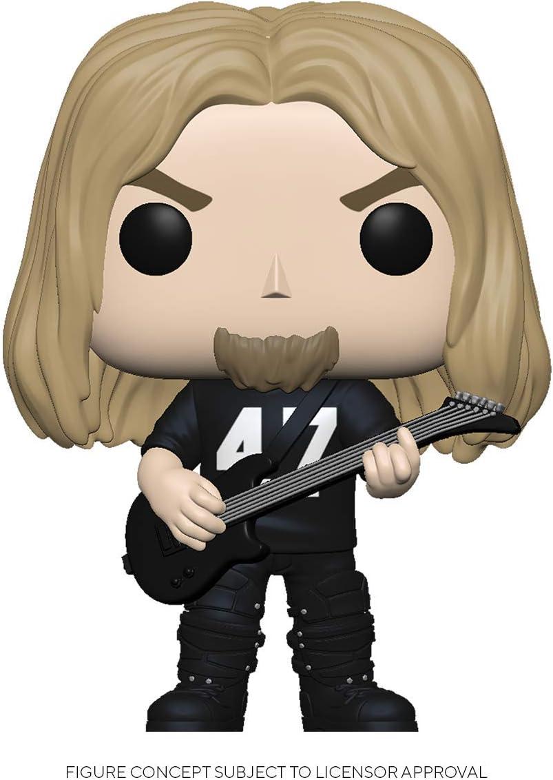 Slayer-Jeff Hanneman Sammelbares Spielzeug Mehrfarben Funko 45386 POP Rocks