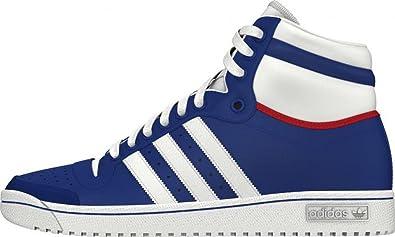 Adidas Top Ten Hi, Chaussures Homme   Femme, Bleu, 38.5  Amazon.fr ... 86b862315366