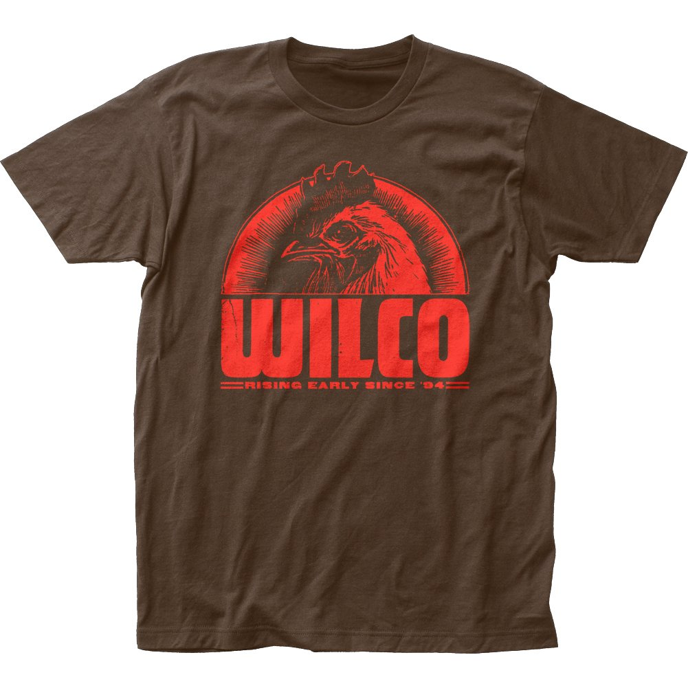 Wilco Alt Rock Band Rising Early Since '94 Adult Fitted Jersey T-Shirt Tee Impact 80936