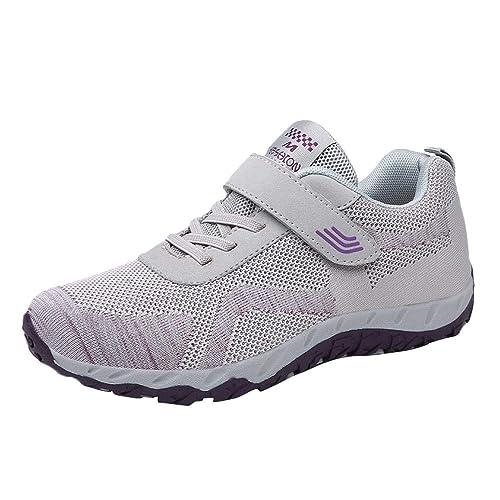 Beladla Zapatillas De Deporte Mujer Zapatos De Gimnasia para Caminar De Peso Ligero Shoes Outdoor Zapatos Deportivos para Mujers TacóN Oculto Casual Viajar ...