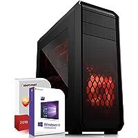 Gaming PC AMD Ryzen 5 2600 6x3.4GHz ASUS Board 16GB DDR4 512GB SSD Nvidia GTX 1060 6GB 4K HDMI Ohne DVD-RW USB 3.1 SATA3 Windows 10 Pro 3 Jahre Garantie