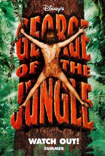 ujęcia stóp buty jesienne kup popularne Amazon.com: GEORGE OF THE JUNGLE MOVIE POSTER 2 Sided ...