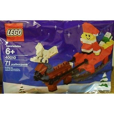 LEGO Holiday Seasonal Christmas Santa Claus 40010: Toys & Games