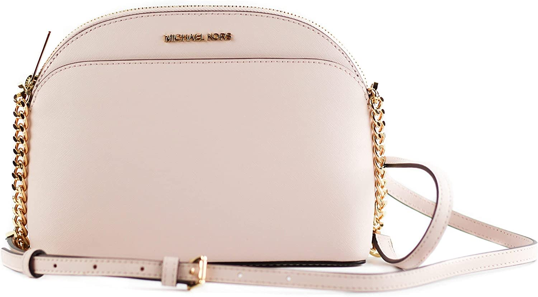 Michael Kors Emmy Saffiano Leather Medium Crossbody Bag